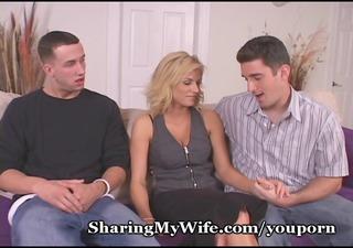 wifey obeys fresh youthful penis