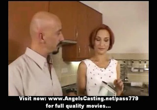 dilettante amazing redhead sexy wife talking with