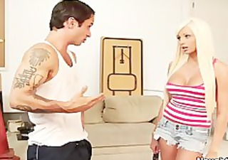 hot blonde rikki six bonks and sucks married