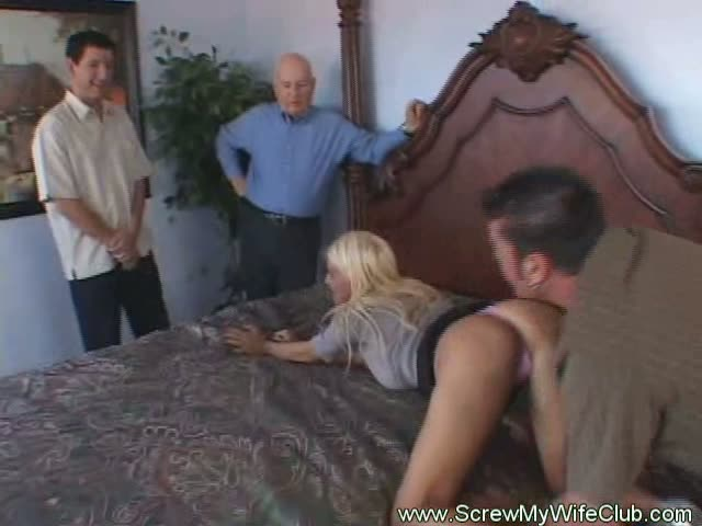 absolutely fantastic tits on blonde swinger